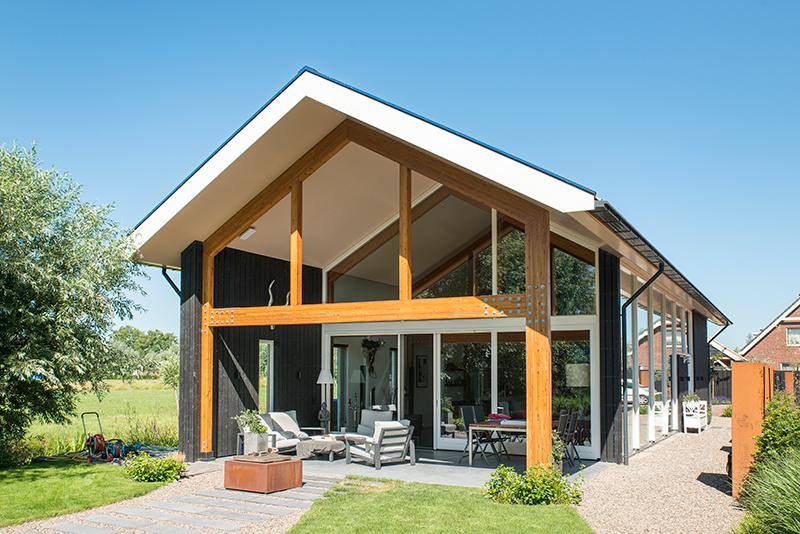 vrijstaande woning modern Pa LR