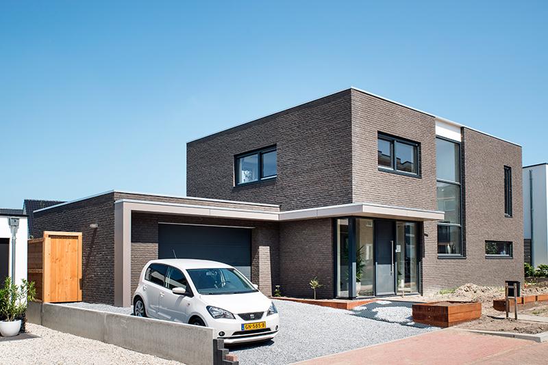 vrijstaande woning modern Zv LR